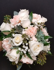 Pink Pastels Bridal Bouquets