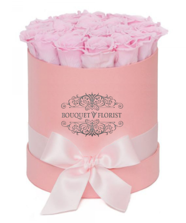 Pink Pasture Roses Pink Flower Box