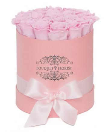 Pink Pasture Roses Pink Flower Box