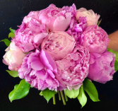 Pink Peony Wedding Bouquet Large Pink Peonies