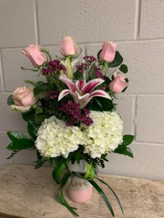 PINK PERFECTION Floral Arrangement
