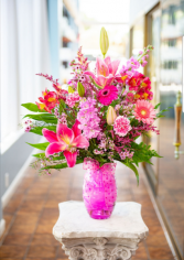 Pink Perfection Vase Arrangement