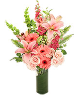 Pink Persuasion Arrangement in Bronx, New York | Park Floral Company