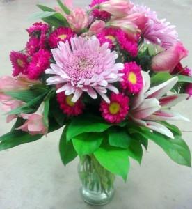 Pink Petals, MO-21 Fresh floral