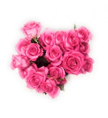 Pink Pink Pink Roses Wrap arrangement