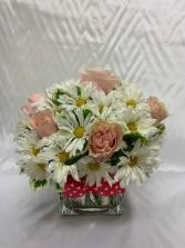 Pink Polka Dots Flower Bouquet
