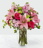 Pink Posh Bouquet of Flowers
