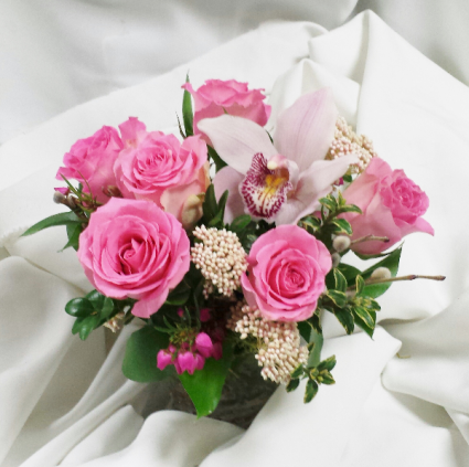 Pink Posh Fresh Floral Design
