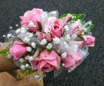 Pink Posies Sweetheart Rose Corsage