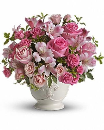 "Pink Potpourri T210-1 13""(w) x 12.5""(h)"