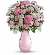 Pink Radiant Refection Floral Bouquet