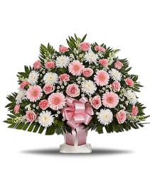 Pink Remembrace Arrangement