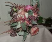 Pink Romance Handheld Bouquet