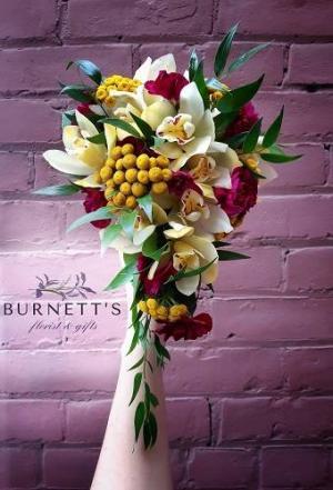 Pink Romance  Wedding bouquet in Kelowna, BC | Burnett's Florist