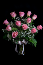 (ON SALE) Pink Rose A Dozen