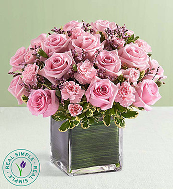 Pink Rose Fancy by Real Simple