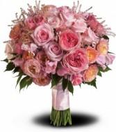 Pink Rose Garden Bouquet T191-2A