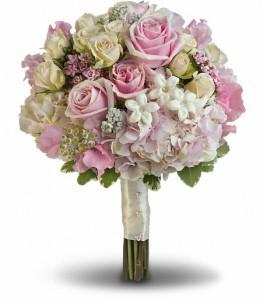Pink Rose Splender Bouquet Bridal Bouquet