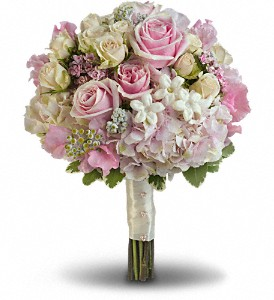 Pink Rose Splendor  Bridal Bouquet