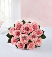PINK  Roses, 12-24 Stems Hand Bouquet