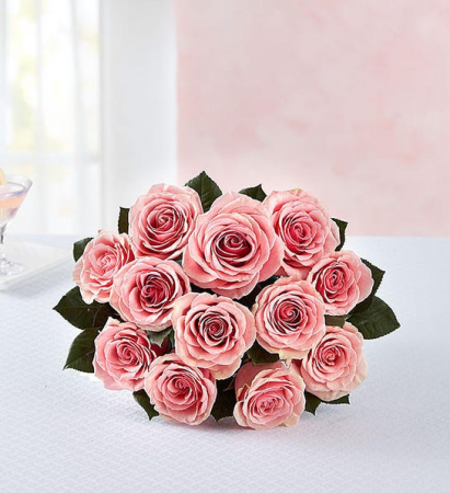 PINK  Roses, 12-24 0r 36 Stems Hand Bouquet