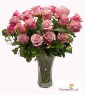 Pink Roses Bouquet Pink Roses Arrangement