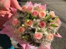 Pink Roses Hong Kong Style