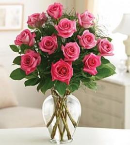 Pink Roses Long-Stem Roses