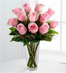Pink Roses Rose Arrangment