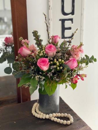 1/2 Dozen Roses Flower Arrangement