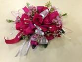 Pink & Silver Princess prom