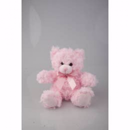 Pink Sitting Bear Plushland
