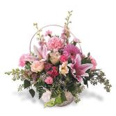 Pink Splendor fresh flowers