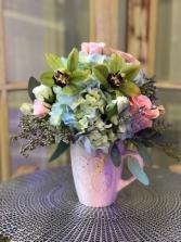 Pink Splash floral arrangement