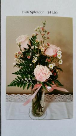 Pink Splendor Vase