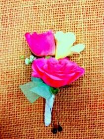 Pink Spray Rose Bout