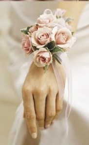 Pink Spray Rose Corsage