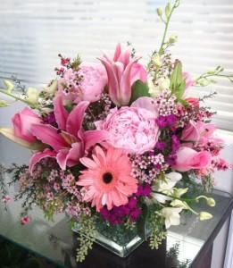 Pink Summer Vase