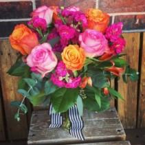Pink Sunshine Roses