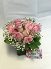 Pink Surprise Floral Arrangement