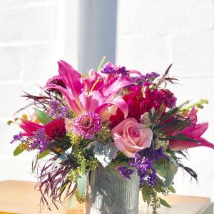 Pink Surprise Vase Arrangment in Huntington, TX | LIZA'S GARDEN