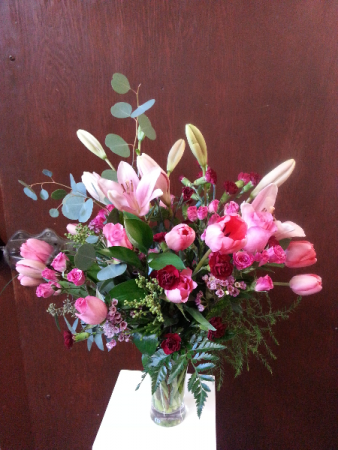 Pink Sweetness  Vase