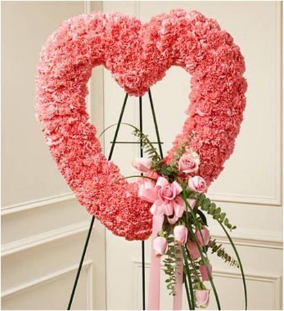 Pink Tribute Open Heart