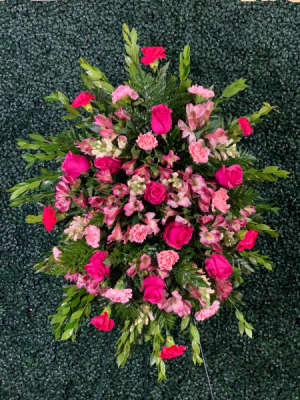 Pink Tribute Spray  in Miami, FL | EXOTIC FLOWERS OF MIAMI