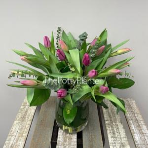Pink Tulips  in Etobicoke, ON | THE POTTY PLANTER FLORIST