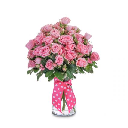 Pink Twinkledotted  Arrangement