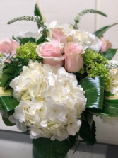 Pink Sea Breeze Vase Arrangement