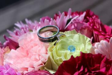 Pink wedding bouquet Wedding Bouquet