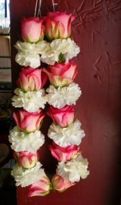 Pink Wedding Harr wedding flowers
