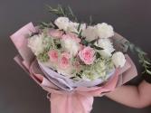 Pink & White Bouquet